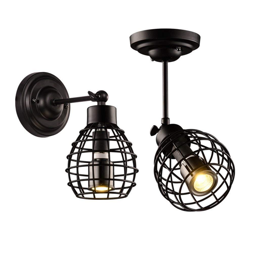 Einfache Led Deckenleuchte Loft Aisle Lampe Wand Lampe Nachttisch Wohnzimmer Wohnzimmer Schlafzimmer Kleidung Shop Decke Verflüssiger Scheinwerfer (2er Set)