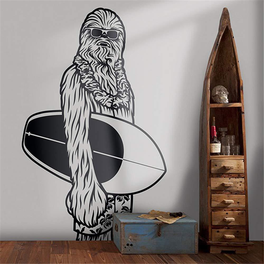 Surf Chewbacca tatuajes de pared Star Wars Art Decor Fathead Mural ...
