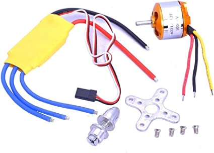 12A Brushless Motor Speed Controller ESC for RC Plane Helicopter Quad