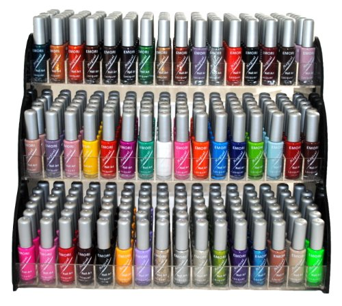 Emori (TM) All About Nail 50 Piece Color Nail Lacquer for sale  Delivered anywhere in USA