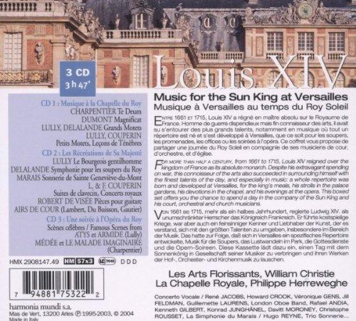 Louis Xiv: Music for Sun King at Versailles