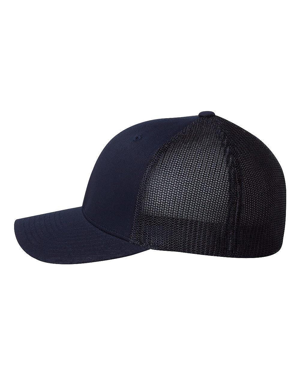 6511 Flexfit Mesh Cotton Twill Trucker Cap