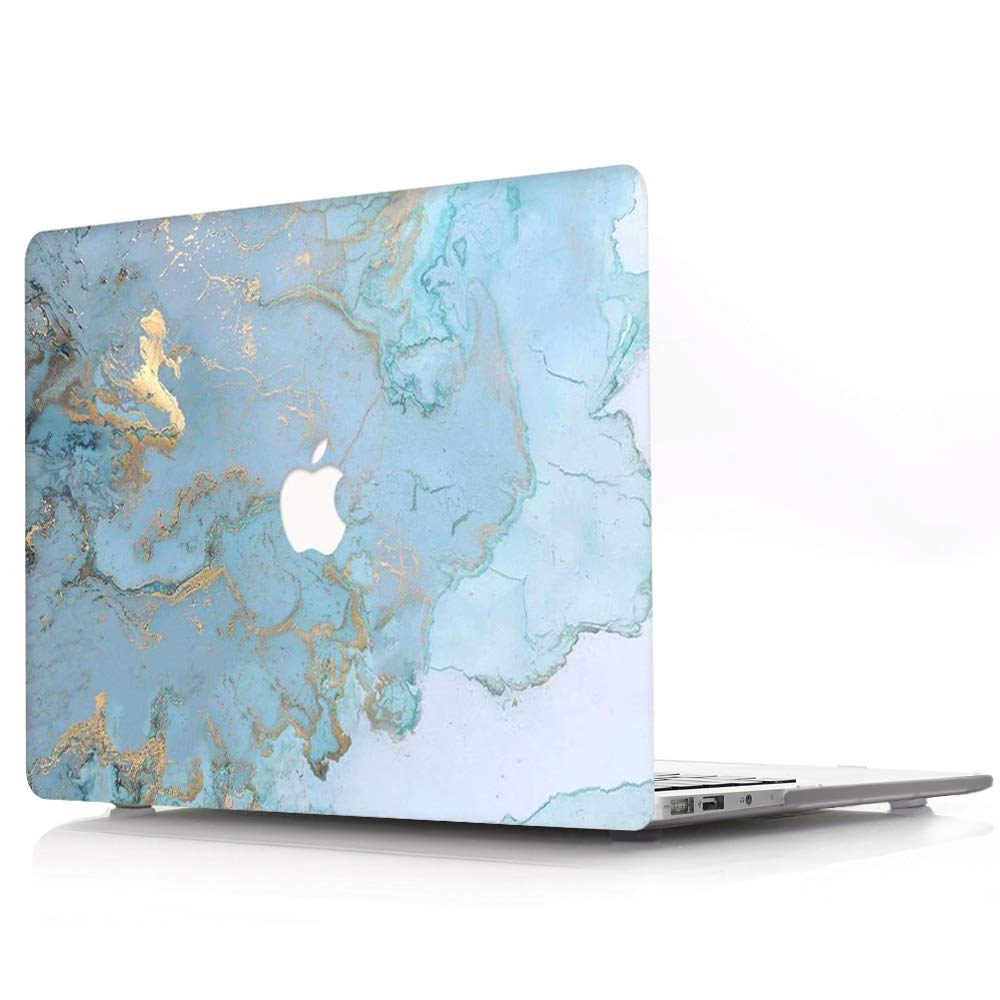 F/ür MacBook Air 11 Zoll: A1370//A1465 AQYLQ MacBook Schutzh/ülle//Hard Case Cover Laptop H/ülle DL 41 -Blue Marmor - Ultrad/ünne Plastik Matt Gummierte Hartschale Schutzh/ülle
