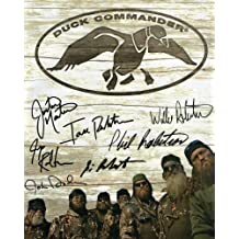 Duck Dynasty cast reprint signed photo of all 7 male cast members Willie Si Jase...