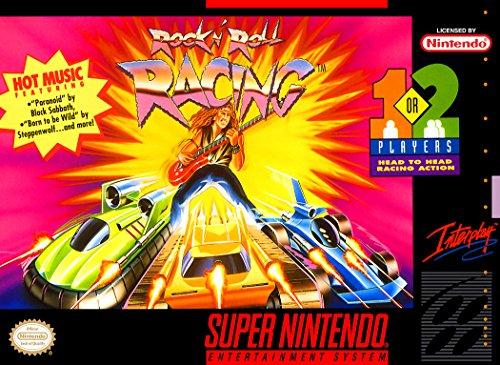 Rock 'N Roll Racing (Super Nintendo, SNES) - Reproduction Game Cartridge with Custom Replica Miniature Box