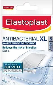 Elastoplast - Antibacterial Waterproof Adhesive Dressing - XL (5)