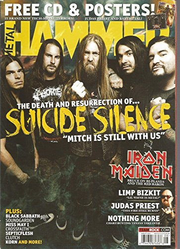 METAL HAMMER MAGAZINE, AUGUST 2014, 259 ~