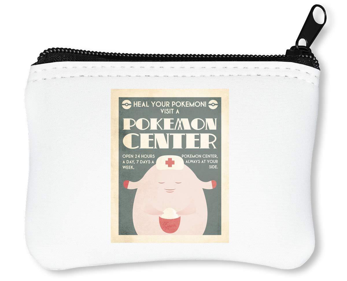 Pokemon Center Poster Graphic Billetera con Cremallera ...