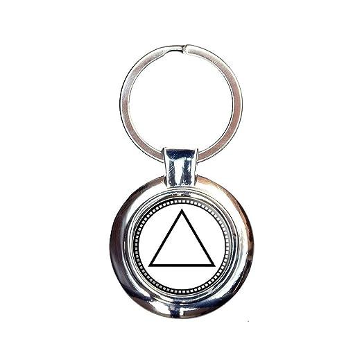 Amazon Alchemy Fire Symbol Keychain Key Ring Clothing