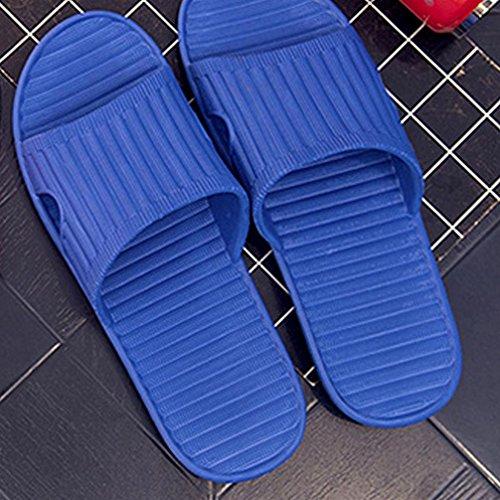Männliche Flip Flops für den Sommer, Sikye Bathinng Schuh Strand Pantoffel Flip-Flops Blau