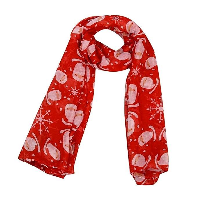 intera collezione negozio ufficiale lucentezza adorabile Sciarpa Donna, Tpulling Le donne di Natale meravigliate ...