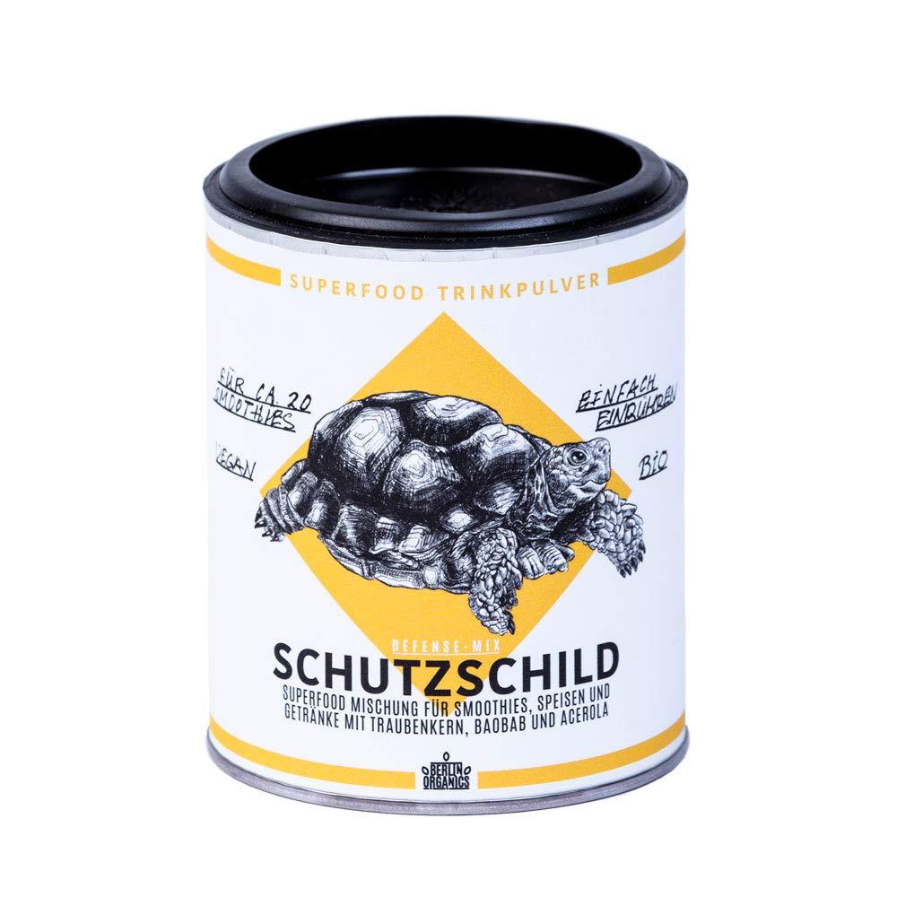 Berlin Organics Schutzschild - Superfood Pulver Mischung mit ...