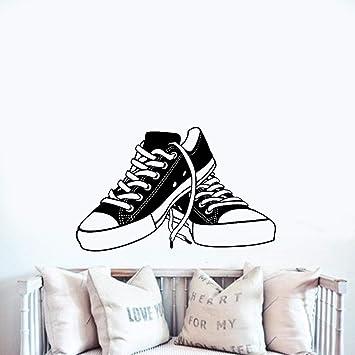 Pegatina De Pared Frases Zapatillas De Deporte Zapatos De