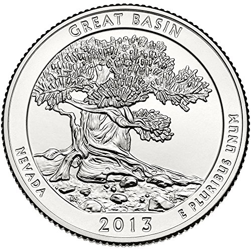 2013 D Great Basin National Park Quarter Choice Uncirculated