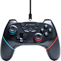 Lioncast Draadloze controller voor Nintendo Switch, sterke dubbele trilfunctie, draadloze switch controller/Switch Pro…