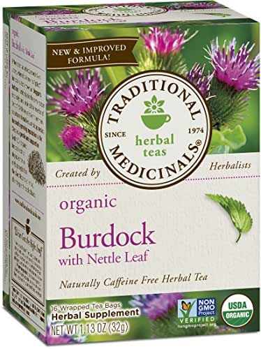 Traditional Medicinals Organic Burdock Herbal Tea Bags