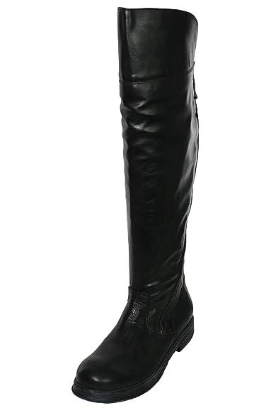 REPLAY Izumy Siefel Overknee Boots Damen Leder