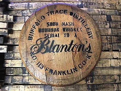 Amazon.com: Blanton\'s Bourbon Barrel Head: Kitchen & Dining