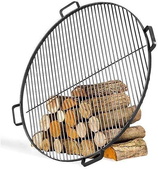 per il fissaggio della griglia come griglia girevole BlackOrange XL Griglia in acciaio /Ø 80 cm con 3 fori sul lato frontale 120 gradi