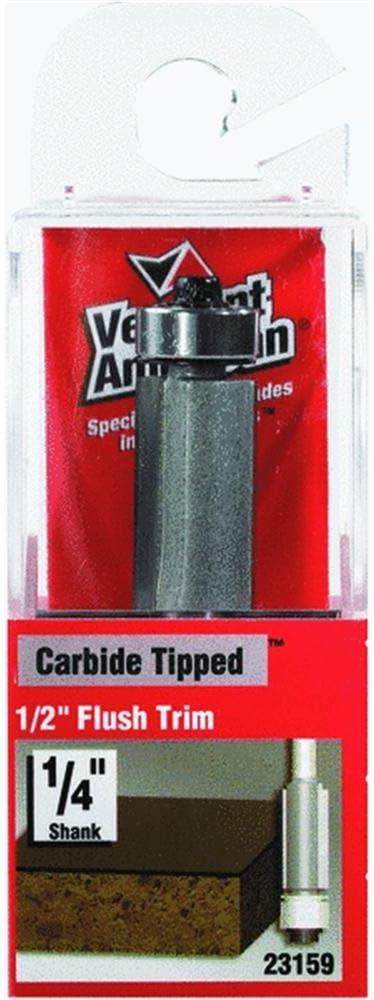 "Vermont American 23160 Carbide Tipped Flush Trim Router Bit 3//8/"" x 9//16/"""