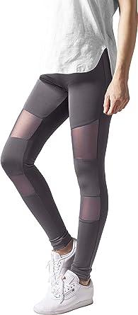 Urban Classics Ladies Triangel Tech Mesh Leggings Donna