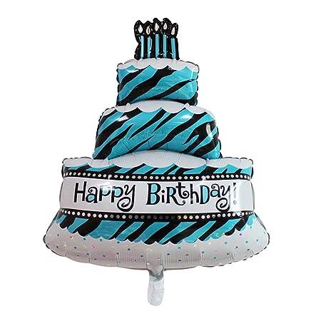 Lqz Xl Luftballon Kuchen Torten Ballon Folienballon Kinder Madchen