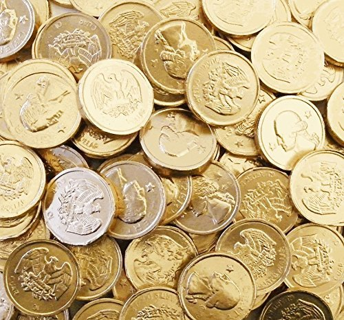 Chocolate Gold Coins - Bulk Wholesale (1 Pound)
