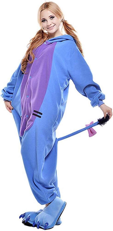 TSMY Animal Onesie Eeyore Pajamas Blue