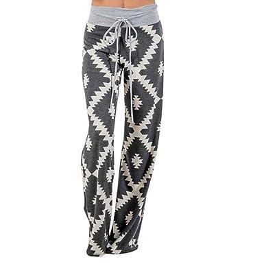 Pantalones Mujer Pantalones De Tiempo Libre Pantalon Anchos ...
