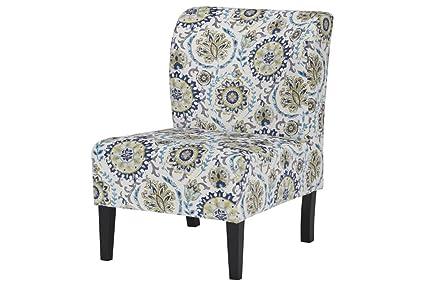 Delicieux Ashley Furniture Signature Design   Triptis Accent Chair   Contemporary    Suzani Pattern In Blue/