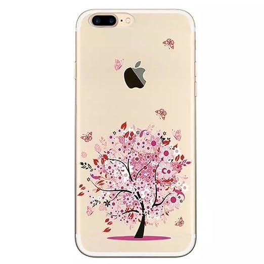 2 opinioni per Sunroyal® Creative 3D Custodia per iphone 7 plus 5.5 Pollici, Trasparente Chiaro