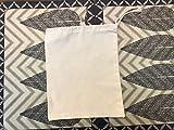 12''x16'' Cotton Muslin Single Drawstring Bags, 100% Organic Cotton Muslin Drawstring and Premium Quality Bags, Eco-friendly (Natural Color) (12)