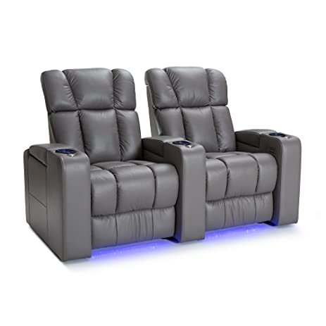 Palliser Collingwood Leather Home Theater Seating Power Recline - (Row of 2 Gray)  sc 1 st  Amazon.com & Amazon.com: Palliser Collingwood Leather Home Theater Seating ... islam-shia.org
