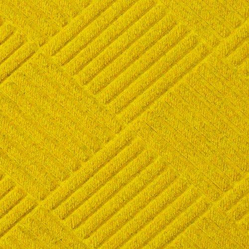 Half-Circle Waterhog Grand Premier Door Mats - Yellow 3' x 1.8' ()