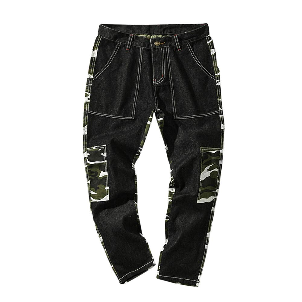 Topgee Men Camouflage Casual Trousers Sport Work Pants with Pocket