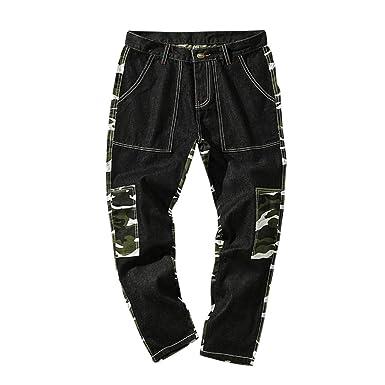 Homme Jean Noir Soldes Fuselé overdose Pantalon Camouflage Hiver xxgwA7Eqar