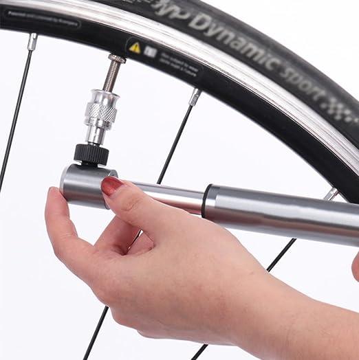Mini Bomba De Bicicleta, Push Portable Basketball Football Air Pump: Amazon.es: Hogar