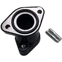 MOTOKU Carburetor Intake Manifold Boot Carb Joint Flange for Honda Recon 250 TRX250TM TRX250TE Sportrax 250 TRX250EX TRX250X