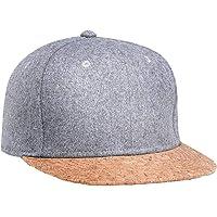 1PC unisex del sombrero del Snapback plana Brimmed Hip Hop sombreros al aire libre gorra de béisbol gorra de béisbol Casual Multi Ocupación de luz para hombres de las mujeres