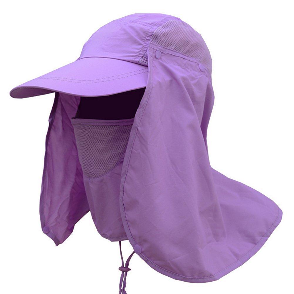 Leisial Sombrero Pesca del Sol Gorra al Aire Libre de Protección Solar Transpirable Cap Sombrero de