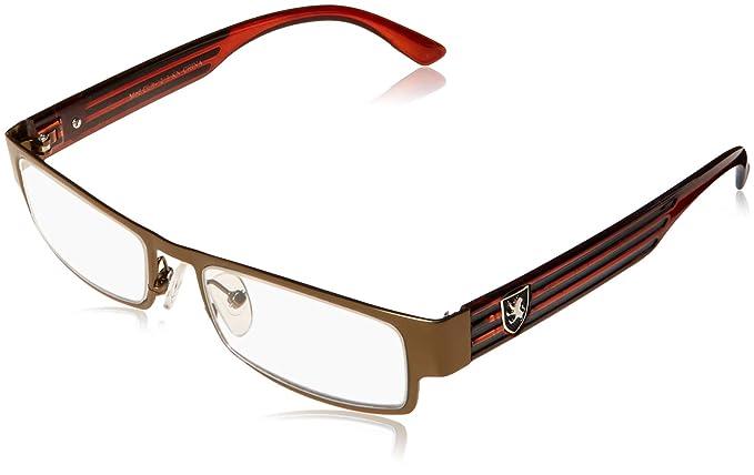 c305bc30a97 Image Unavailable. Image not available for. Color  Rectangular Frame  Women s Men s Designer Sunglasses Clear Lens RX Optical Eyeglasses