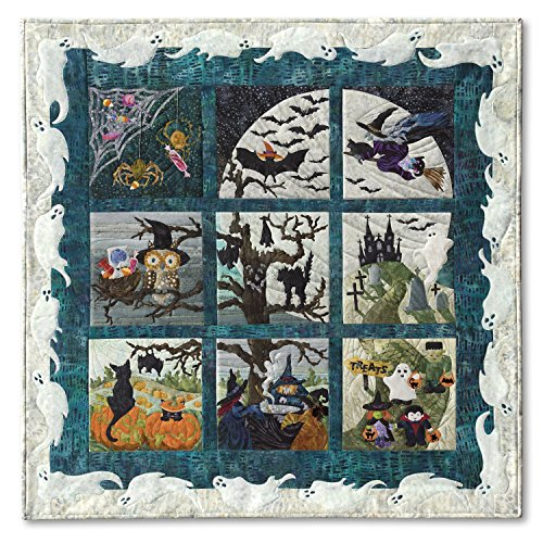 Halloweenies Halloween McKenna Ryan Pine Needles Quilt 9 Pattern Set