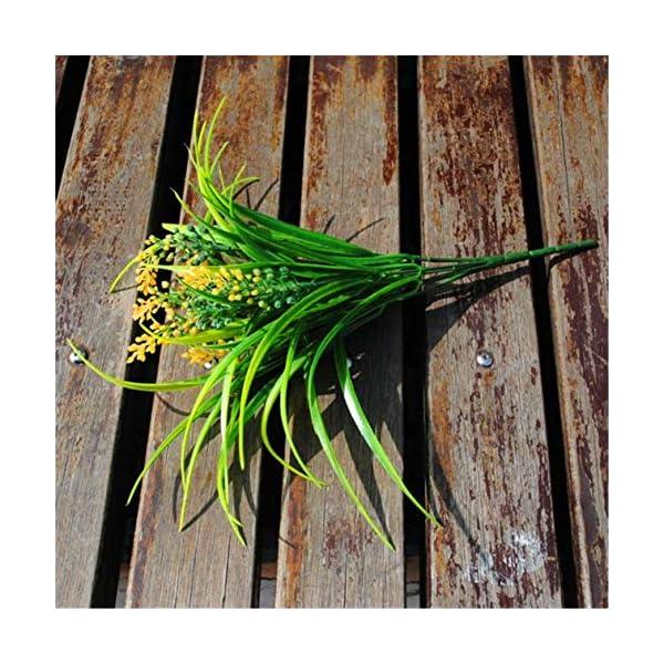 ZJJZH Artificial Decorative Flowers Simulation Grass Foxtail Shooting Props Grass Restaurant Flower Arrangement Flower Arrangement Living Room Decoration Flower Simulation Grass Plastic Flower