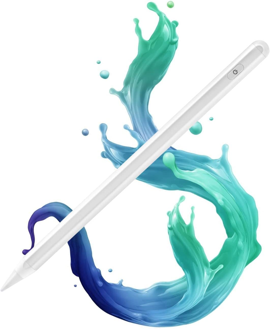 Stylus Pen for iPad Compatible with (2018-2020) Apple iPad 6th-8th Gen/iPad Pro 11''&12.9''/iPad Mini 5th Gen/iPad Air 3rd 4th Gen, Touch Pencil with Palm Rejection for Precise Writing & Drawing