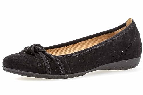 217a8134a7 Gabor Women's Ballet Flats Black Black: Amazon.co.uk: Shoes & Bags