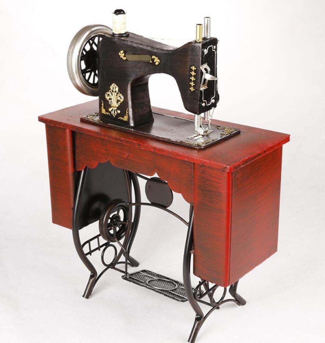 GL&G Retro nostalgia coser Pedal Vertical de hierro máquina modelo ...