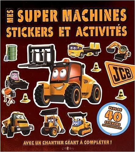 Livres gratuits Mes super machines : Avec un chantier géant à compléter ! epub pdf