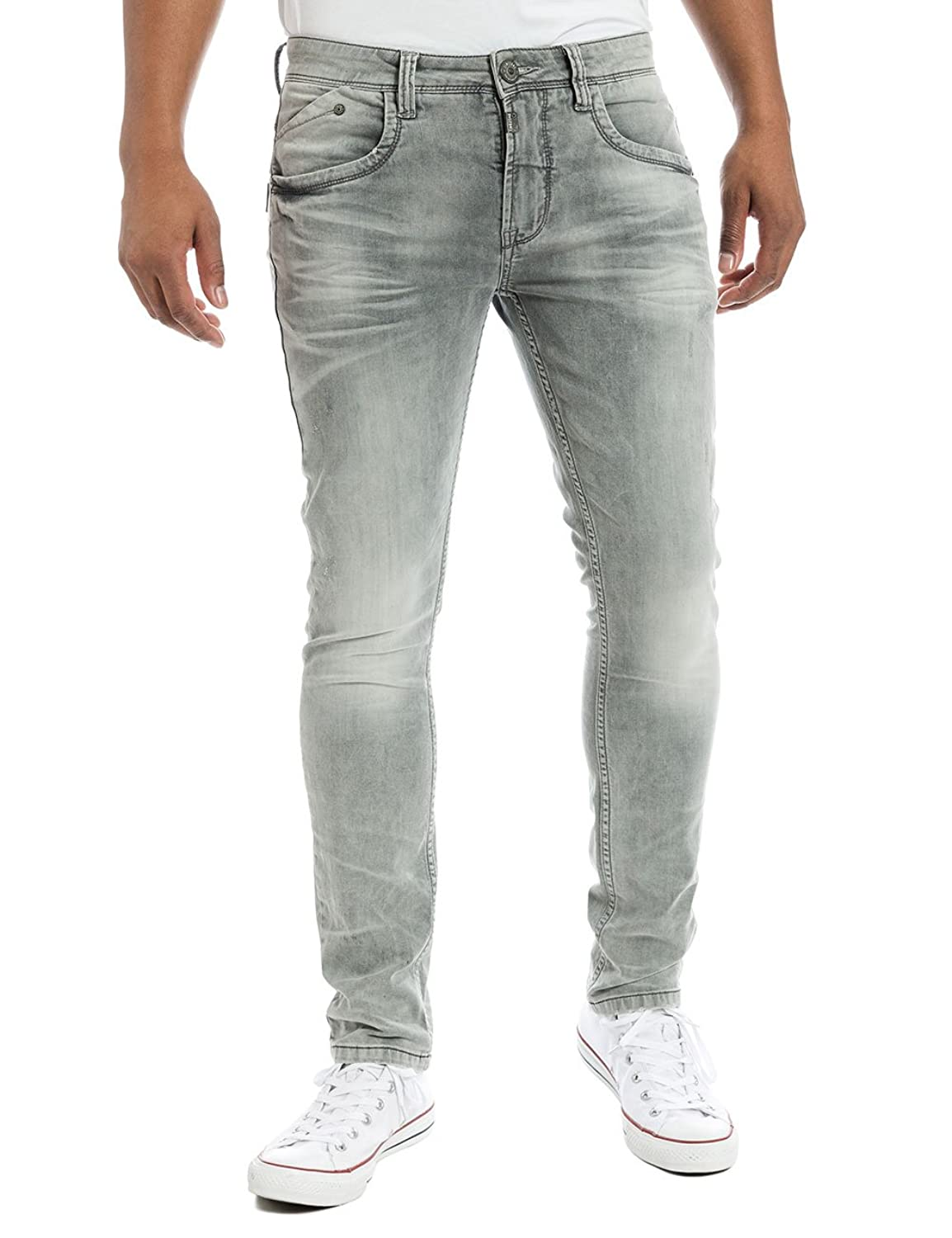 Timezone Herren Jeanshose Costellotz 2085 Light Grey Wash