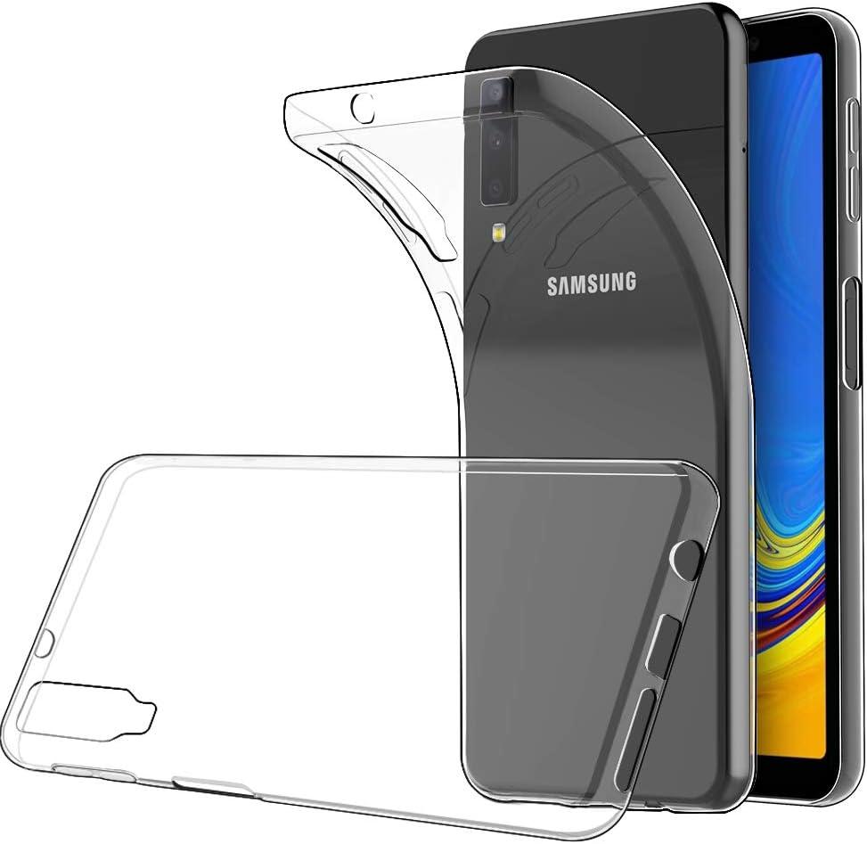 Simpeak Funda Compatible con Samsung A7 2018 (6.0 Pulgadas), Funda ...
