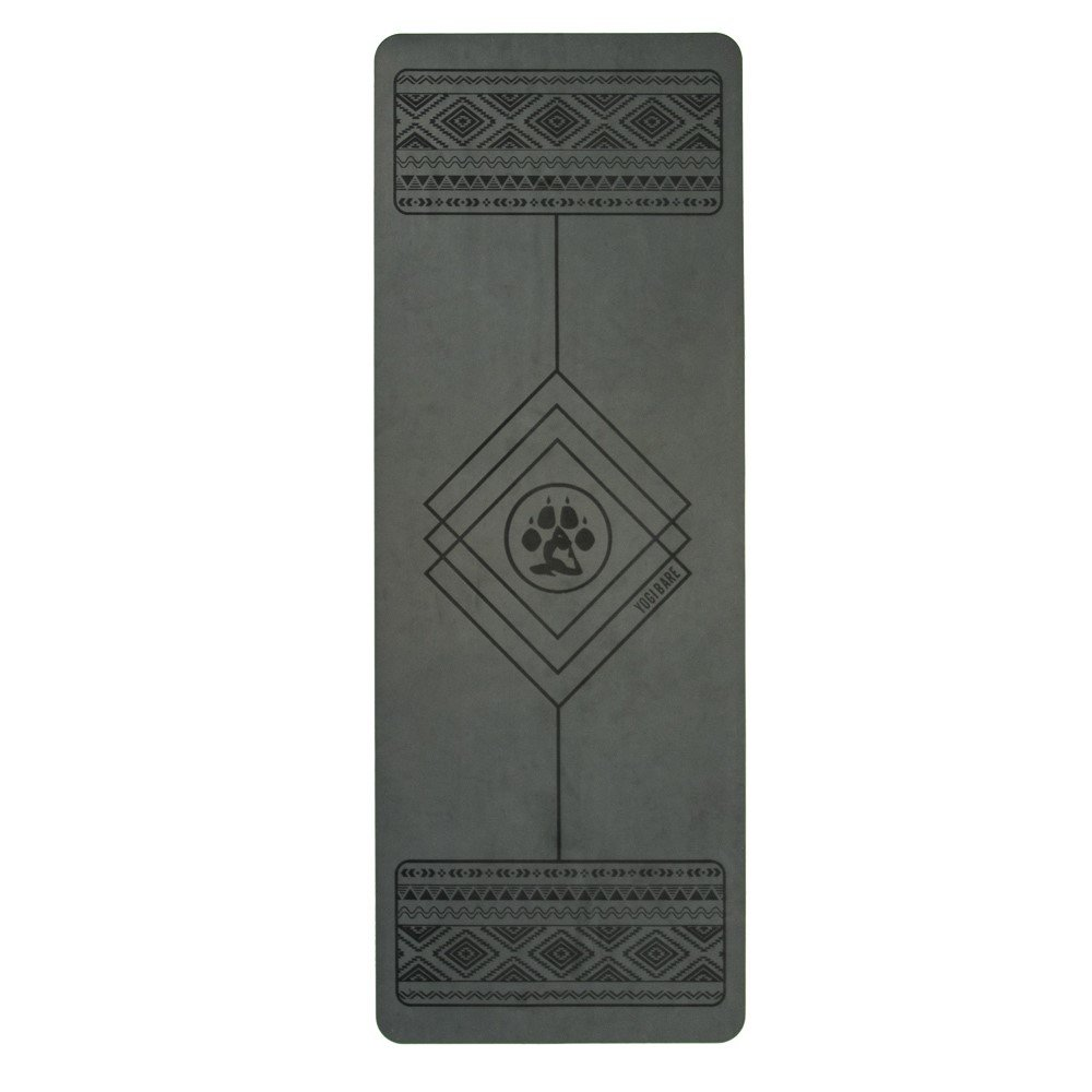 Yogi-Bare® 4mm professionellen Studio Yoga-Matte - Griptech rutschfeste Oberfläche mit Eco freundliche Materialien